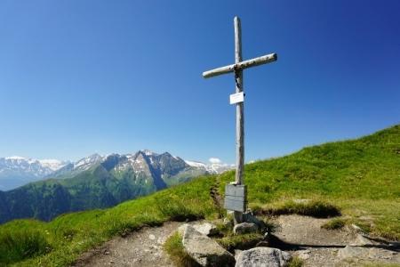 Gipfelkreuz Schwarzwand (19.07.2014)