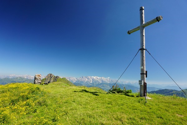 Gipfelkreuz Reißrachkopf (19.07.2014)