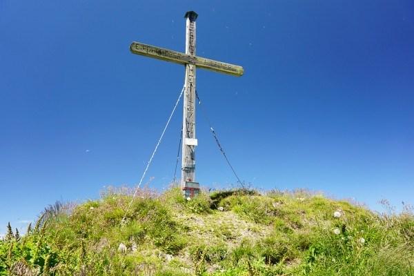 Gipfelkreuz Hirschkopf (19.07.2014)