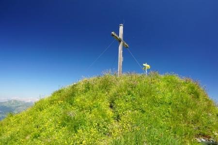 Gipfelkreuz Baukogel (19.07.2014)