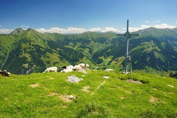 Gipfelkreuz Roßkopf (19.07.2014)