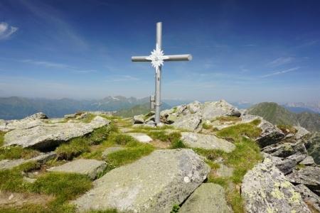 Gipfelkreuz Gamskogel (20.07.2014)