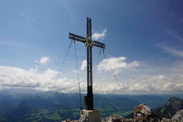 Gipfelkreuz Kammspitz (26.07.2014)