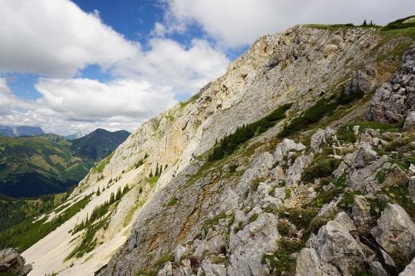 Der Gipfel der Kahlwandspitze liegt quasi am Weg