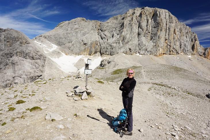 Zustieg zum Ramsauer Klettersteig über die Edelgrießhöhe