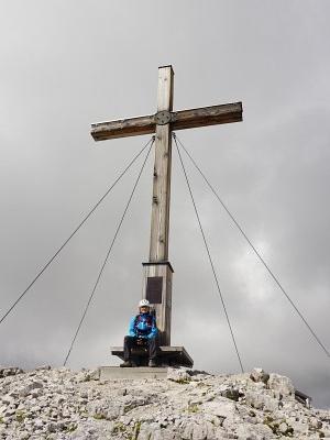 Gipfelkreuz auf der Scheichenspitze