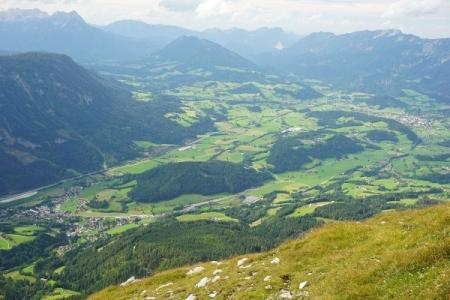 Ausblick über die Pyhrn-Priel-Region