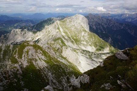 Noch einmal der Scheiblingstein - zu allen Jahreszeiten ein empfehlenswerter Wanderberg, ob mit Bergschuhen, Schneeschuhen oder auf Tourenski.