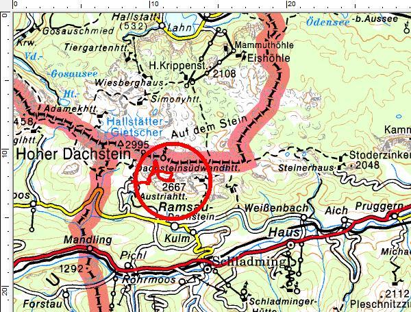 Das Tourengebiet Ramsau - Dachstein-Süd