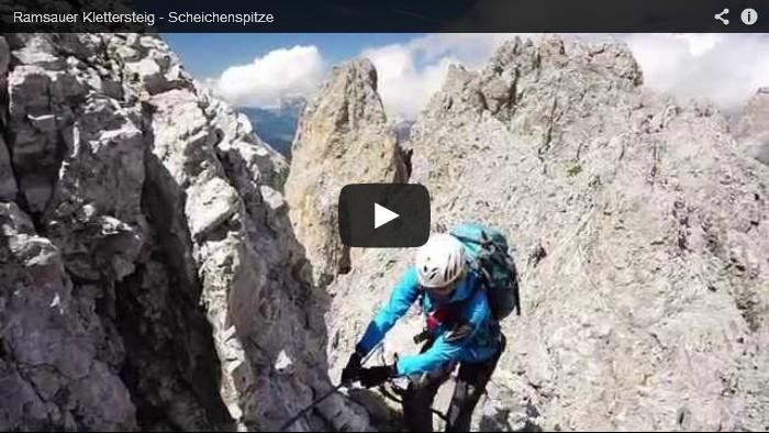 Video Ramsauer Klettersteig - Scheichenspitze
