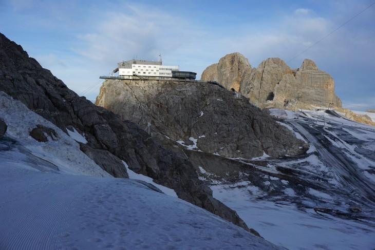Vom Hunerkogel über den schmutzigen Gletscher zum Rosmariestollen