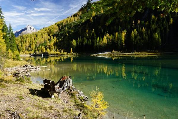 Ein herrliches Platzerl zum Entspannen: Der Schliereralm-See
