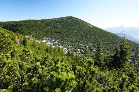 Blick vom Kleinen zum 4 Meter höheren Großen Größtenberg