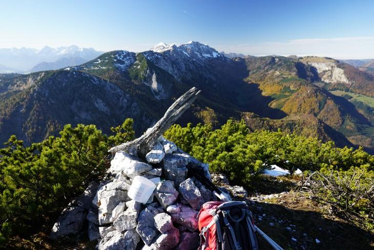 Ausblick vom Kleinen Größtenberg zum Sengsengebirge