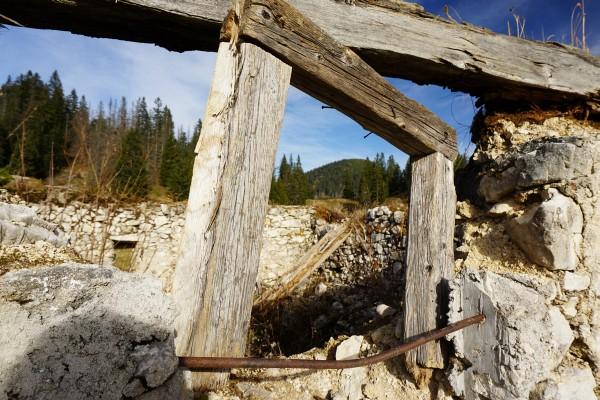 Bei der Mayralm - Ausblick zum Mayrwipfl