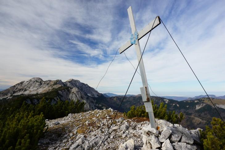 Gipfelkreuz am Brandleck
