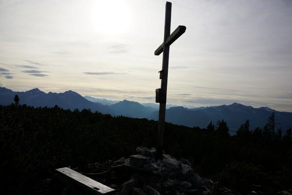 Gipfelkreuz am Mayrwipfl