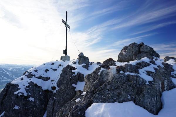 Gipfelkreuz am Kammspitz