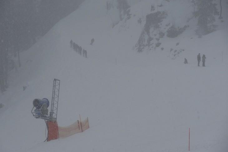 Beinahe bei Tourengeher als Schifahrer am Galsterberg