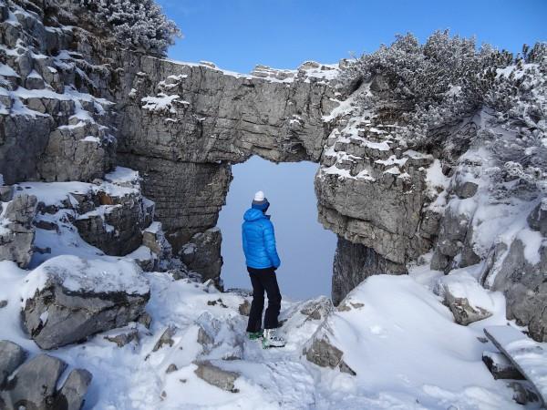 Beim Loserfenster: Die AlpenYetin hat den Durchblick