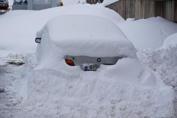 Schneeloch Ausseerland