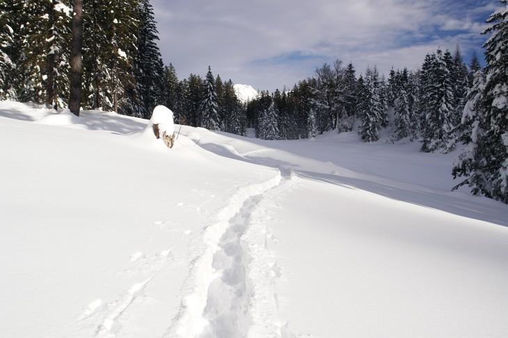 Schneeschuhwandern kann so schön, aber auch ziemlich anstrengend sein.