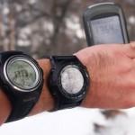 """""""Uhrenvergleich"""" und """"GPS-Vergleich"""""""