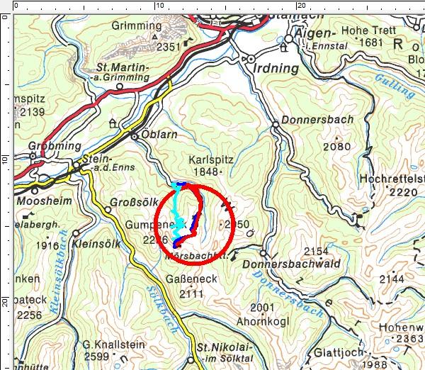 Tourengebiet Walchental - Englitztal - Plöschmitzzinken