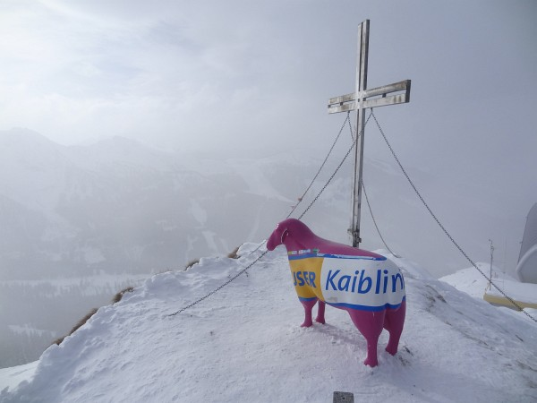 Gipfelkreuz am Hauser Kaibling