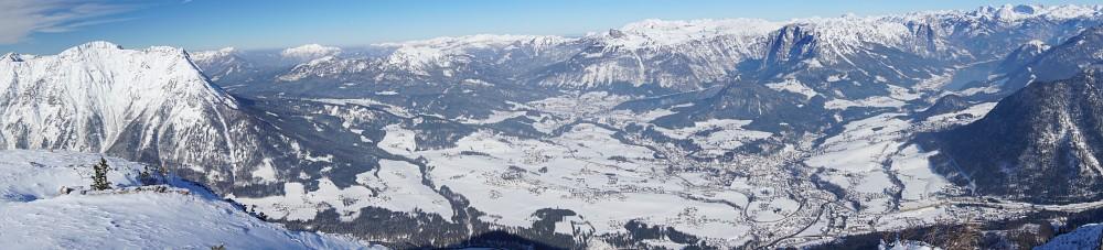 Panoramablick über das Ausseer Gebiet (Klick zur Vergrößerung)