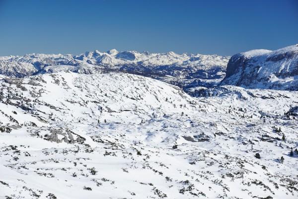 Hügelige Plateau-Landschaft