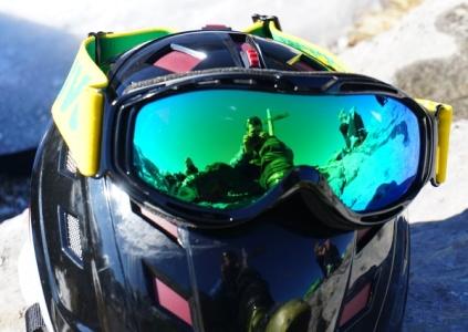 Selbstportrait bei der Gipfelrast