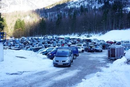 ... nach Obertraun, wo sich jetzt noch eine Herausforderung stellt: Wo habe ich gestern mein Auto abgestellt?