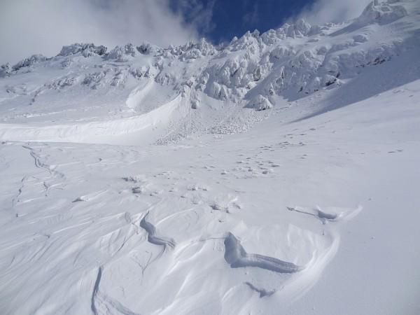 Hochwinterliche Bedingungen im Kar-Abschluß