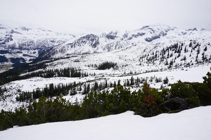 Blick vom Sauruck über das weite Tauernkar