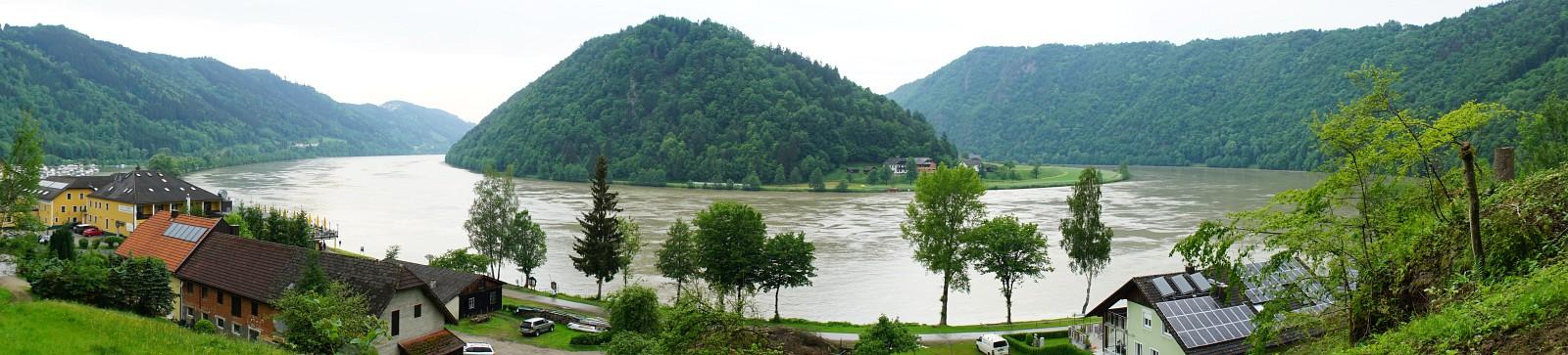 """Donauschlinge - """"Schlögener Schlinge"""" (Klick zur Vergrößerung)"""