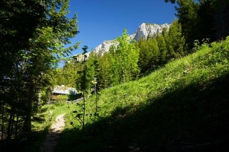 Am Reißtalersteig - vorbei an der privaten Reißtalerhütte
