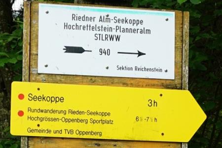 """Start in Oppenberg - Winkel. Die """"vorgeschlagene"""" Zeit für die Rundwanderung habe ich etwas überschritten."""