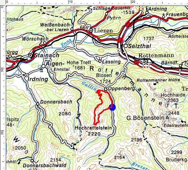 Tourengebiet Oppenberg