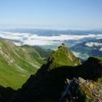 Blick vom Breitkopf zum Zeller See