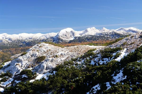 Gipfel im Toten Gebirge um Weiße Wand und Plankermira