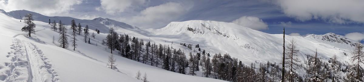 Herrliche Landschaftsimpressionen im Talschluß des Reitalmgrabens (Klick zur Vergrößerung)