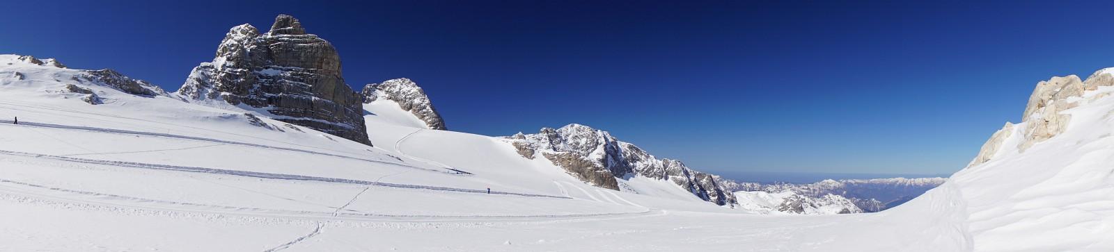 Vom Gjaidsteinsattel Richtung Hoher Dachstein