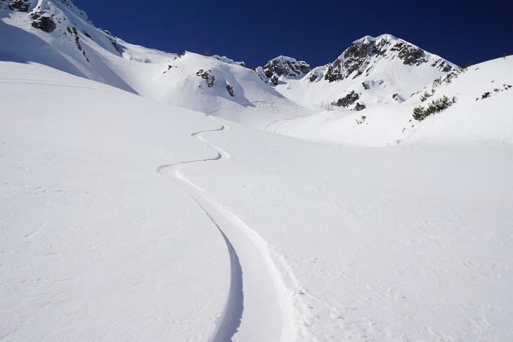 Durchs Schneekar auf den Schwarzkopf