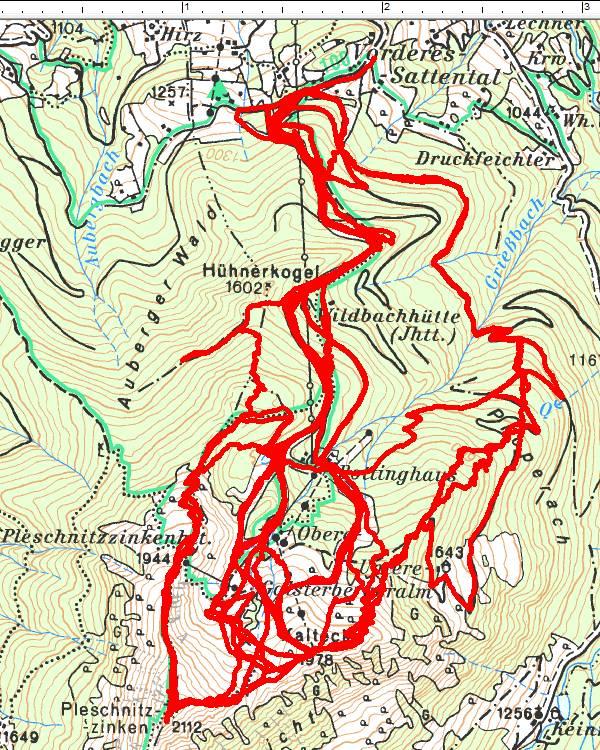 Viele Wege führen auf Kalteck und Pleschnitzzinken