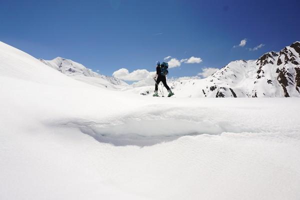 Unterwegs zwischen den Zillertaler und Tuxer Alpen