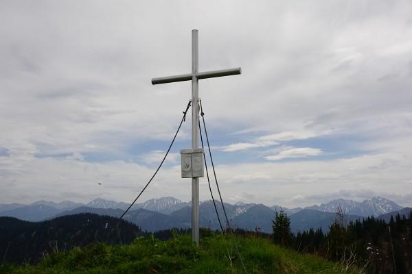 Gipfelkreuz am Wolfsbacherturm
