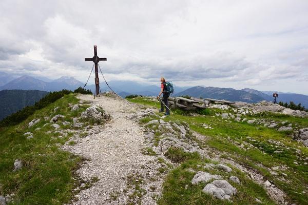 Gipfelkreuz am Hochkar