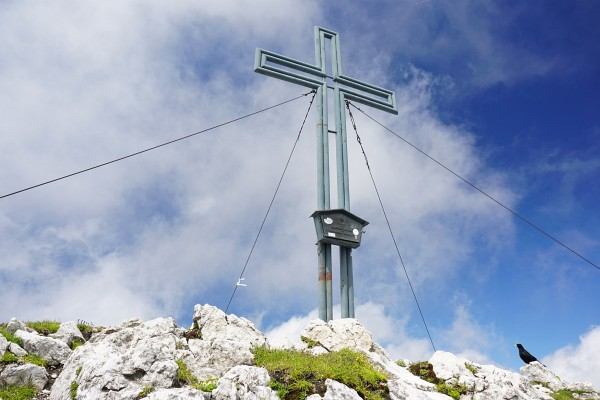 Gipfelkreuz am Grimming