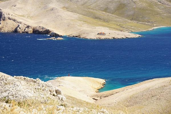 Meeresenge zwischen Krk und Prvic